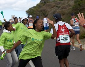 Two Oceans, Kapstadt - Supporter am Chapman's Peak